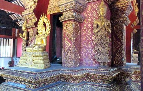 Chiang Mai en famille - activité - BOUDDHA - visiter les temples avec des enfants - thailande