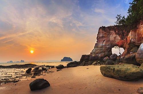 Coucher de soleil - Séjour Thaïlande en famille - circuit
