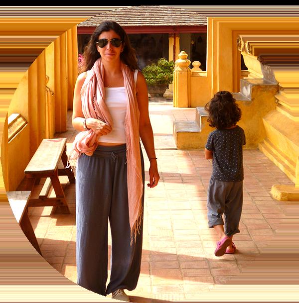 Voyage en famille-wat pho-Bangkok-Thailande avec des enfants