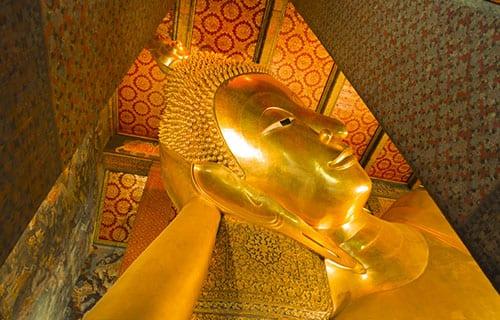 Bangkok Centre Historique - Bangkok en famille - activité - visite temple thailande - wat pho - boudha couché