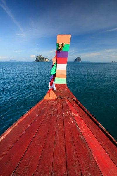 koh-jum-boat-thailande en famille - bateau en bois thailande