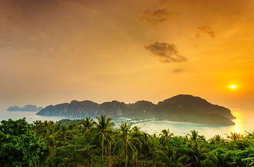 Koh Phi Phi en famille - thailande