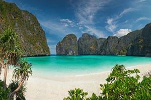thaïlande -koh-phiphi en famille - maya bay - paradis tropical