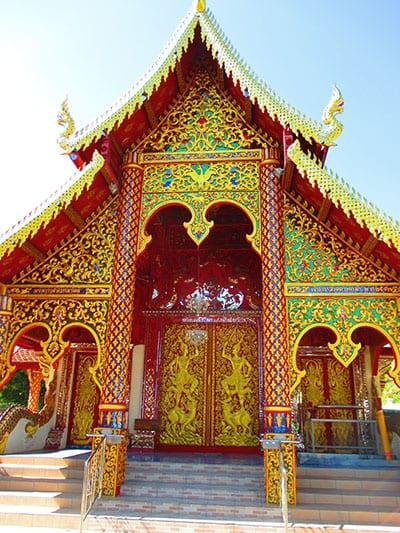 Chiang Mai en famille - visite temple thailande