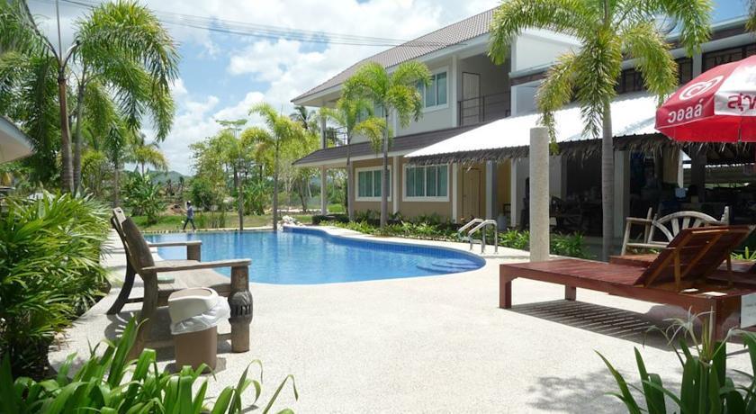 Kanchanaburi en famille - hotel piscine