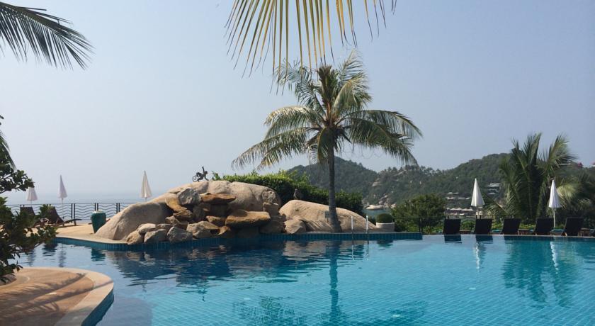 koh tao en famille - hôtel de luxe - piscine en thaïlande