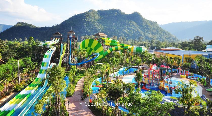 thailand khao yai swimming pool trek family