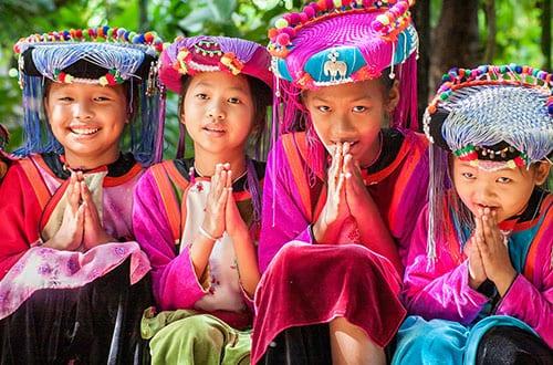 Nord de la Thailande en famille - excursion - visite - hmong - tribu ethnic - mae hong son