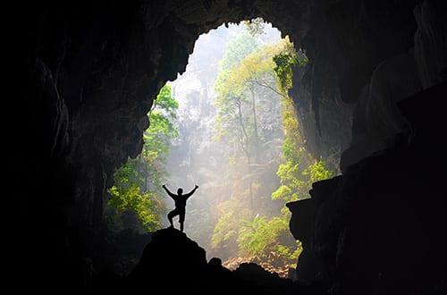 Kanchanaburi avec des enfants - parc naturel - grotte thailande