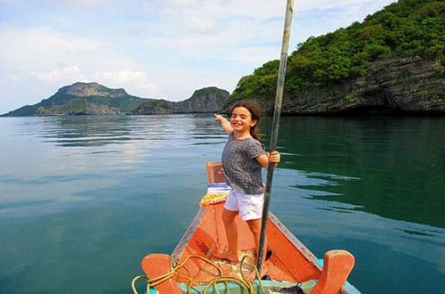 Koh Samui en famille - Ang Thong - Thailande - excursion - visite - bateau