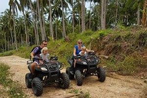 que faire à khanom avec des ados - partir en thailande avec des enfants - buggy sud thailande