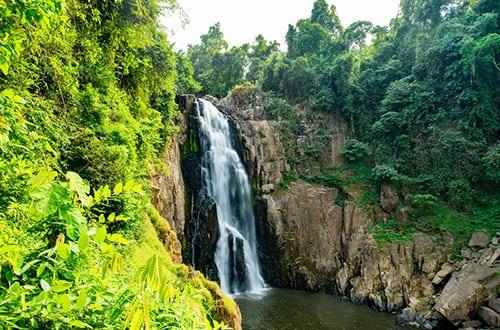 Parc Naturel en Thailande - Khao Yai avec des enfants - cascade - jungle - aventure