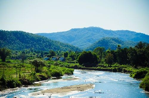 Pai - Nord de la Thailande avec des enfants - activité - rafting -ado -rivière