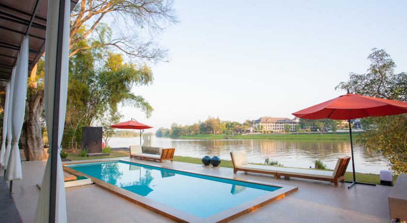Chiang Rai en famille - hôtel de luxe - piscine