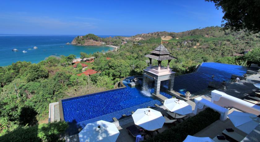 hôtel piscine koh lanta - voyage en famille en thailande - hotel avec vue magnifique