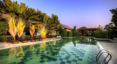thailand sukhothai hotel swiming pool family travel with kids