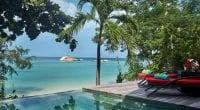 koh phangan villa piscine - vue mer - thailande en famille