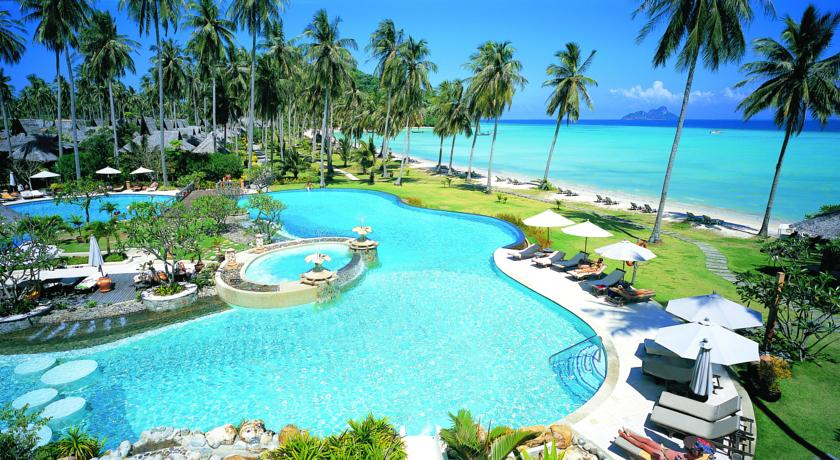 Koh Phi Phi en famille - hôtel de luxe - piscine