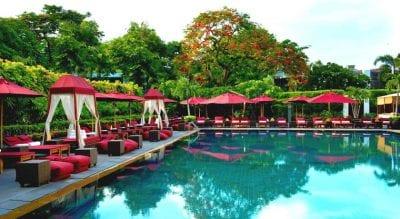 Bangkok palace hotel piscine - bangkok en famille