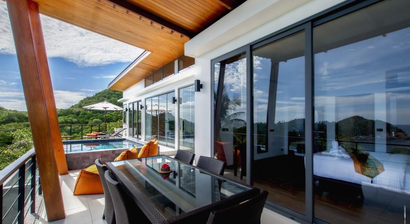 koh tao luxury pool villa family travel kids thailand