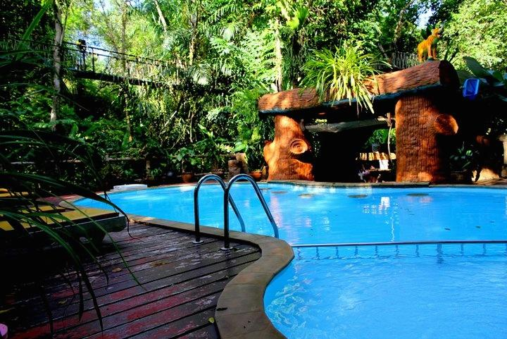 Khao sok thailande hôtel piscine famille