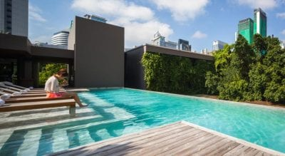 Bangkok palace hotel piscine - confort à bangkok - hotel famille