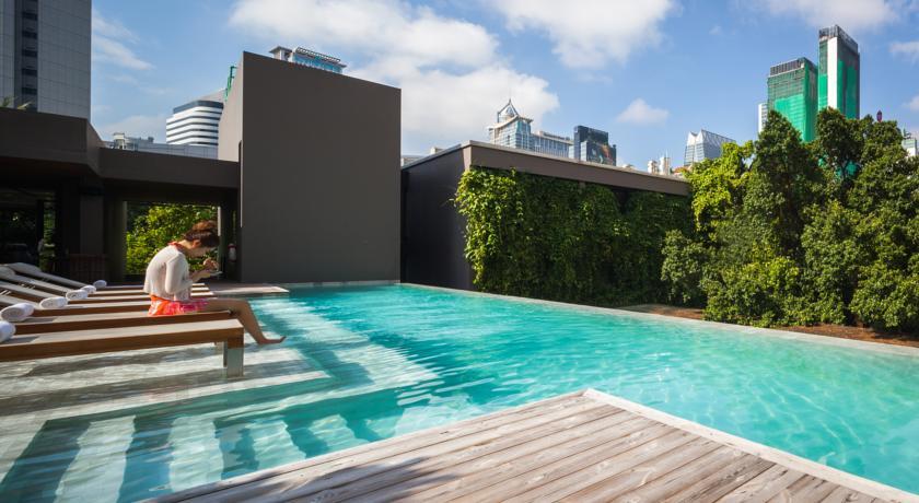 Ad lib bangkok h tel piscine bangkok partir en tha lande avec des enfants - Hotel bangkok piscina ...