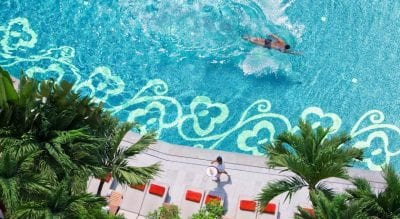 Bangkok palace hotel - Bangkok en famille - piscine - séjour thaïlande