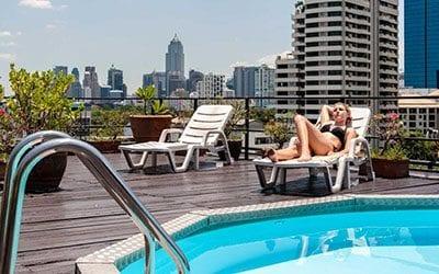 hotel bangkok piscine -thailande pas cher avec des enfants