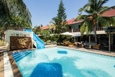 hotel piscine sam roi rot - hua hin en famille