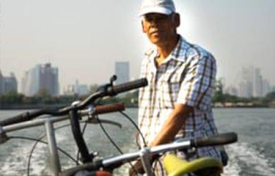 bangkok en famille - excursion en vélo