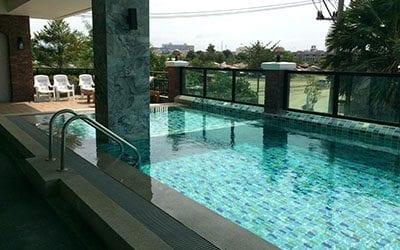 hôtel piscine pattaya - pattaya en famille - pattaya avec un ado