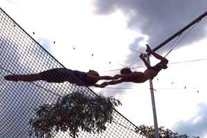 sport à koh tao - activité sud thailande - acrobaties thailande - trapeze