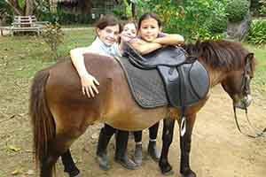 thailande avec des enfants-que faire à koh samui avec un enfant - cheval