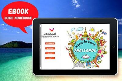 la Thailande avec des enfants - livre de voyage thaïlande