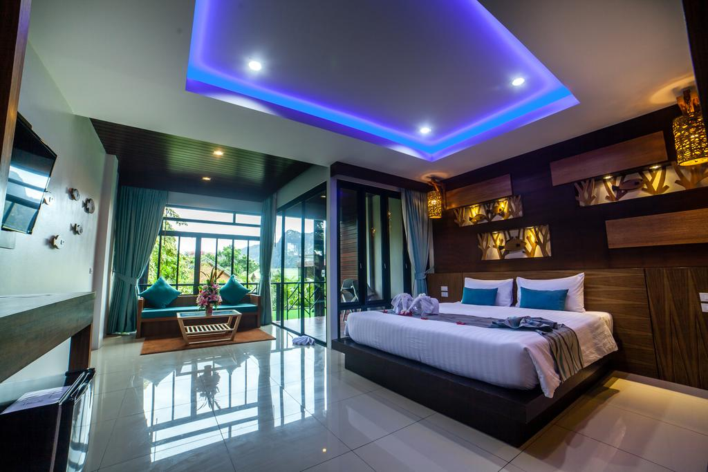 hotel koh phiphi - grande chambre - famille