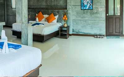 hôtel pas cher koh tao-koh tao avec un bébé - hôtel koh tao avec une grande chambre