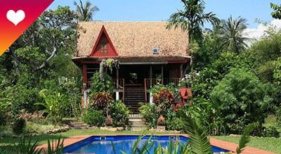 Koh Jum en famille - location - piscine -vacances