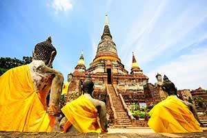 les temples en Thaïlande-la Thailande avec des enfants - la Thaïlande en famille