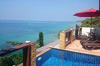 Location de maison koh Lanta - Villa avec piscine Koh Lanta