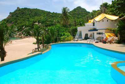 hotel pas cher koh tao - koh tao avec des enfants - koh tao plongée - piscine - bungalow thailande
