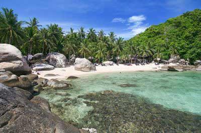 plage koh tao famille - paradis thailande