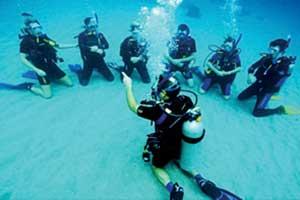 bapteme de plongée sud de la thailande