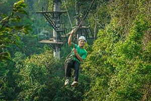 Voyage au Cambodge en famille - activité a angkor - insolite - sport - foret