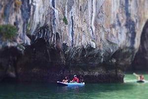 activité phuket - excursion famille phuket - canoé kayak thailande