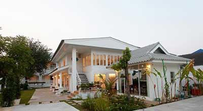 hotel famille chiang rai-jardin-confort