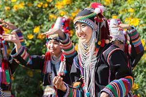 le nord de la thailande - tribu akha - excursion chiang rai
