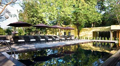 kanchanaburi hotel piscine-famille
