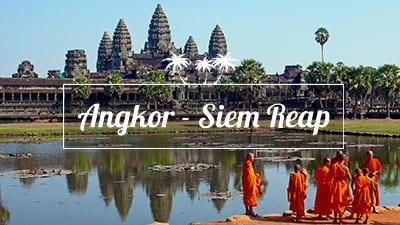 Cambodge-angkor-temple-moine-merveille du monde-voyage
