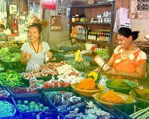 thailande en famille-cours de cuisine thaie-marché local-sympa-produit frais